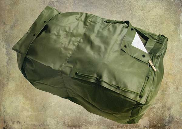 Sack with two pockets